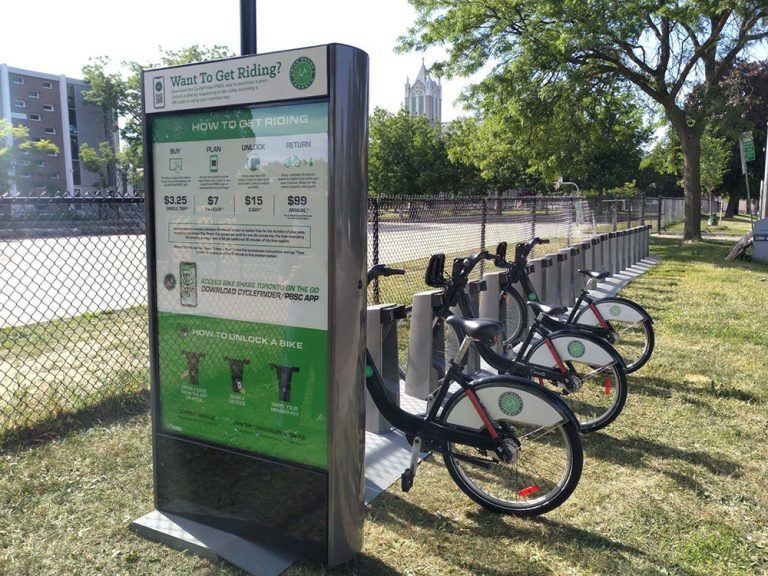 Bellwoods Ave - Treford Pl - SMART w bikes