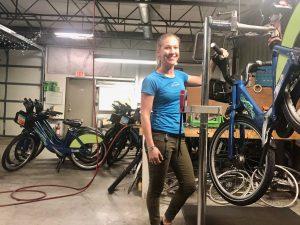 Joannah Burkhardt, Bike Chattanooga General Manager