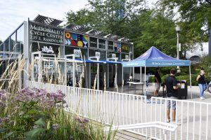 HUB312 launches in Millennium Park within the McDonald's Cycle Center